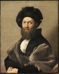 Balthazar Castiglione - Raphael, 1514-15, Rome, Italy