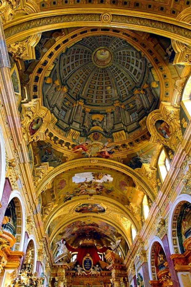 Jesuit Church Vienna - Fresco by Andrea Pozzo