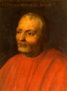 Giovanni di Bicci de MediciArtist Cristofana  dell'Altissimo, circa 1500, Florence